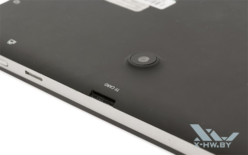 Отсек для карты памяти microSD на Lexand STR-7100 HDR