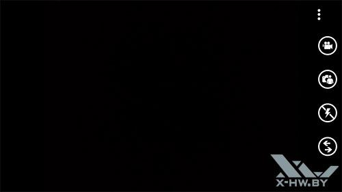 Интерфейс камеры Samsung ATIV S