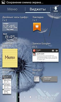 Виджеты Samsung Galaxy S Duos. Рис. 4
