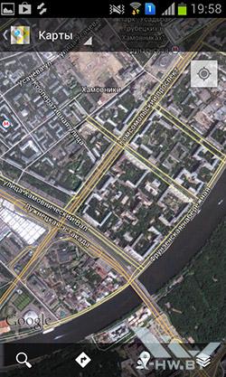 Карты на Samsung Galaxy S Duos. Рис. 4