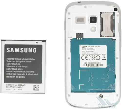 Внутри Samsung Galaxy S Duos