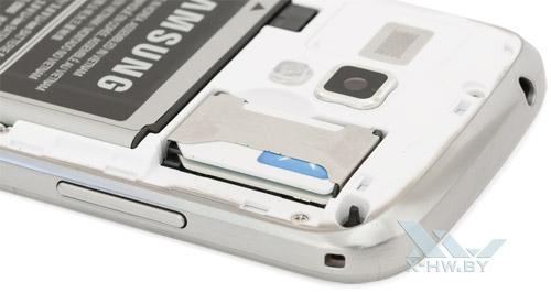 Разъем для SIM-карт на Samsung Galaxy S Duos