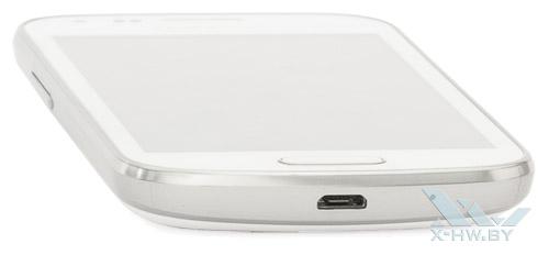 Нижний торец Samsung Galaxy S Duos