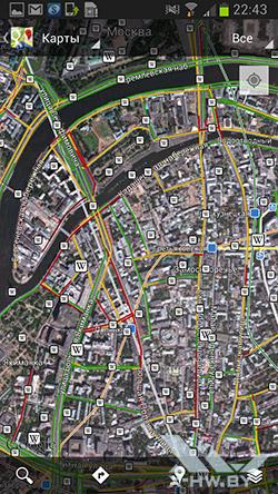 Карты на Samsung Galaxy Premier. Рис. 9