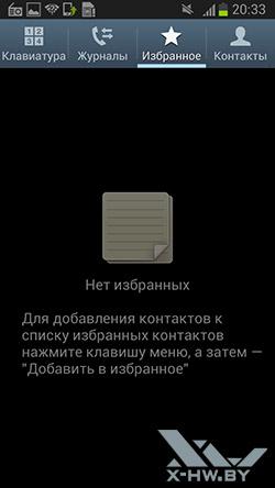 Избранное на Samsung Galaxy Premier