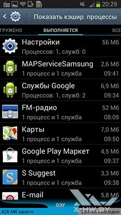 Настройка приложений на Samsung Galaxy Premier