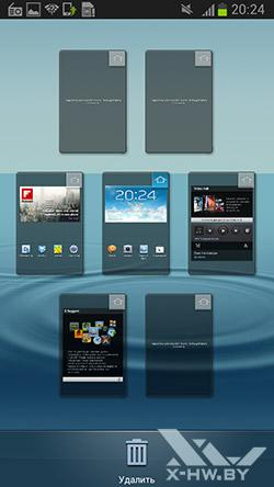 Рабочие столы Samsung Galaxy Premier