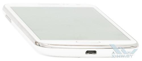 Нижний торец Samsung Galaxy Premier