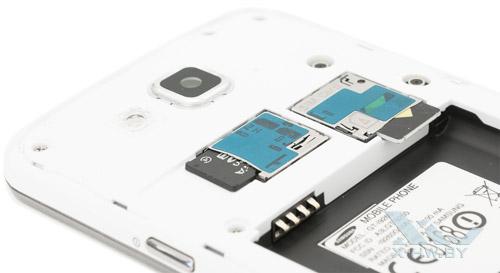 Разъем для карт microSD и microSIM на Samsung Galaxy Premier