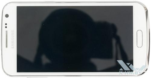 Samsung Galaxy Premier. Вид сверху