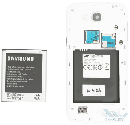 Samsung Galaxy Premier без аккумулятора