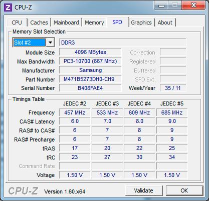 ОЗУ Samsung Gamer 700G7A