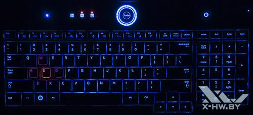 Игровая подсветка клавиатуры Samsung Gamer 700G7A