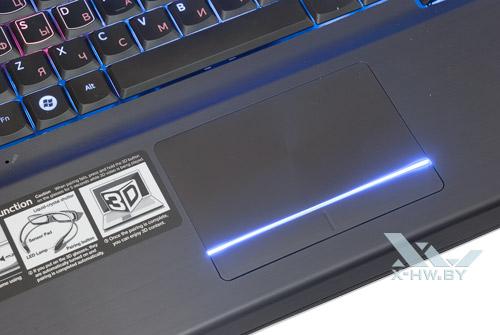 Подсветка тачпада Samsung Gamer 700G7A