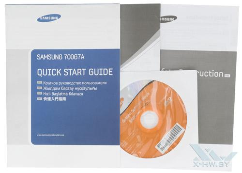 Комплектация Samsung Gamer 700G7A