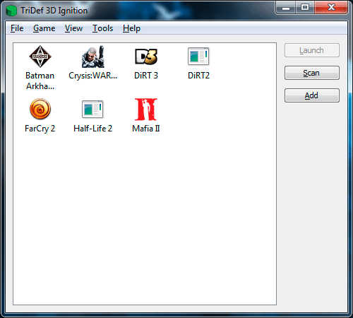 TriDef на Samsung Gamer 700G7A. Рис. 1