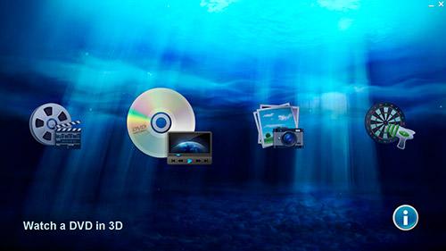 Стартовый экран TriDef на Samsung Gamer 700G7A. Рис. 1