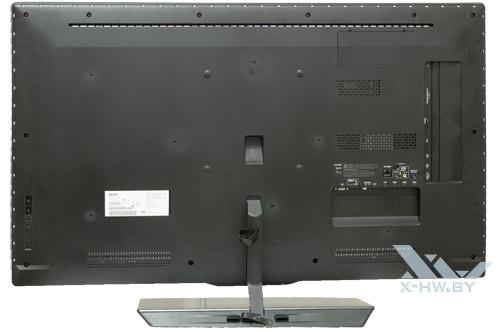 Philips 46PFL8007T. Вид сзади