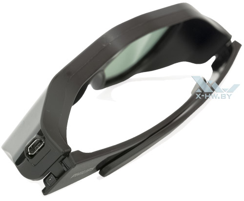 Разъем USB на очках для Philips 46PFL8007T