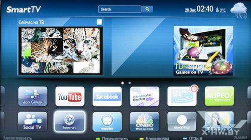 Smart TV на Philips 46PFL8007T