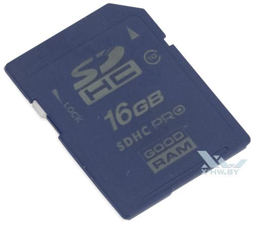 GOODRAM 16 Гбайт class 10