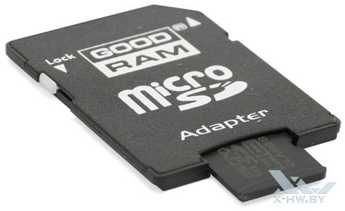 Переходник для GOODRAM microSDHC 16 Гбайт class 10