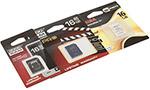 Две GOODRAM и одна Toshiba: карты памяти SDHC Class 10 и microSDHC на 16 Гбайт