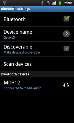 Подключение Microlab MD312 по Bluetooth