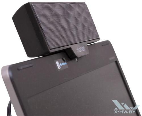Microlab B51 на ноутбуке. Рис. 3