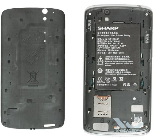 Аккумулятор Sharp SH631W