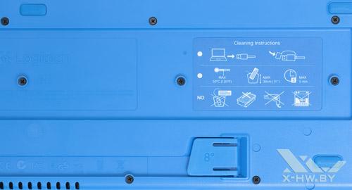 Инструкция по промывке Logitech K310