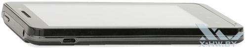 Левый торец Highscreen Alpha GTR