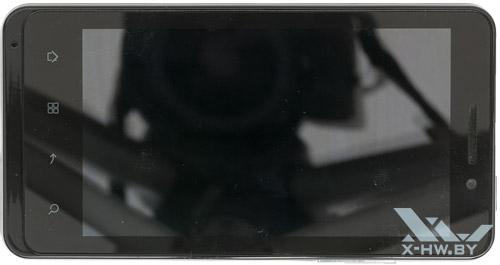 Highscreen Alpha GTR. Вид сверху