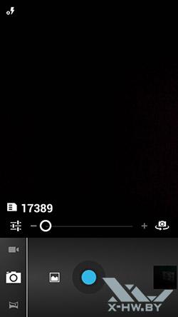 Интерфейс камеры Highscreen Alpha GTR