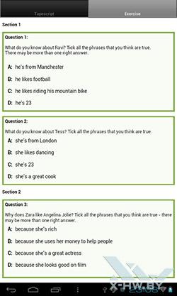 LearnEnglish на PocketBook SURFpad. Рис. 2