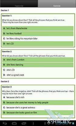 LearnEnglish на PocketBook SURFpad. Рис. 3