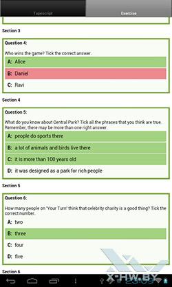 LearnEnglish на PocketBook SURFpad. Рис. 4