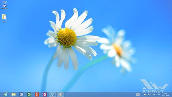 Рабочий стол Windows RT