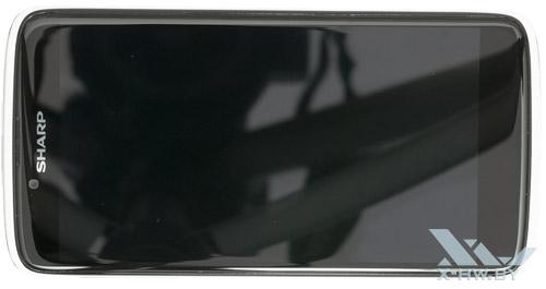 Sharp SH837W. Вид сверху