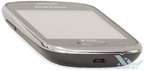 Нижний торец Samsung Rex 70