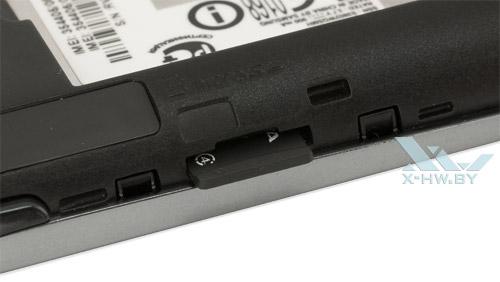 Разъем для карты microSD на Samsung Rex 70