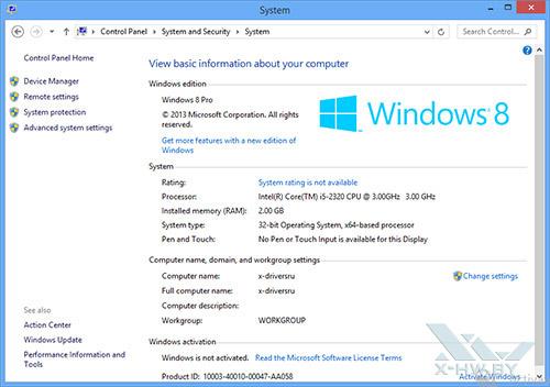 О Windows Blue