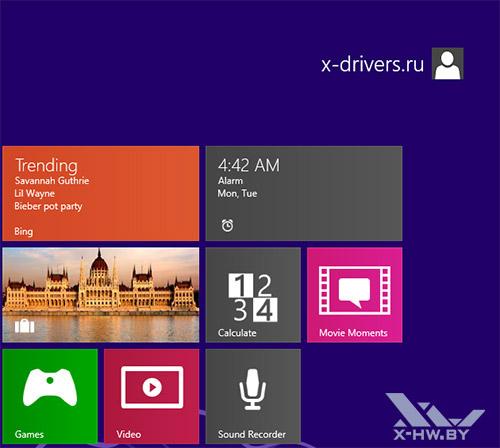 Новые приложения Windows Blue