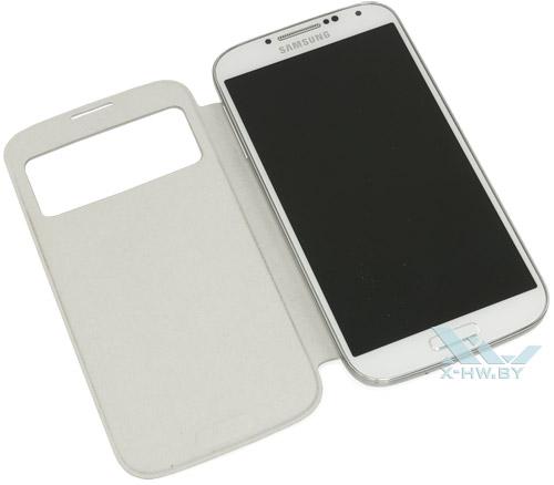 Samsung Galaxy S4 в чехле S View Cover
