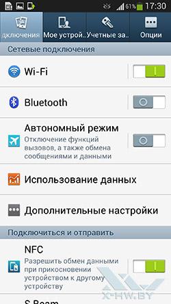 Настройки на Samsung Galaxy S4. Рис. 1