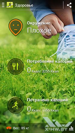 S Health на Samsung Galaxy S4. Рис. 5
