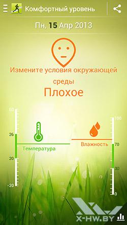 S Health на Samsung Galaxy S4. Рис. 7