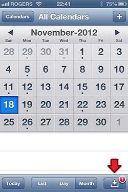 Calendar в iOS