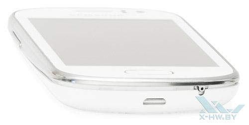 Нижний торец Samsung Galaxy Fame