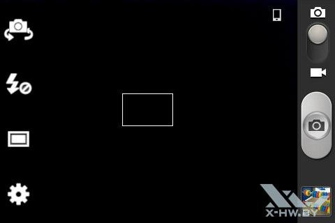 Интерфейс камеры Samsung Galaxy Fame